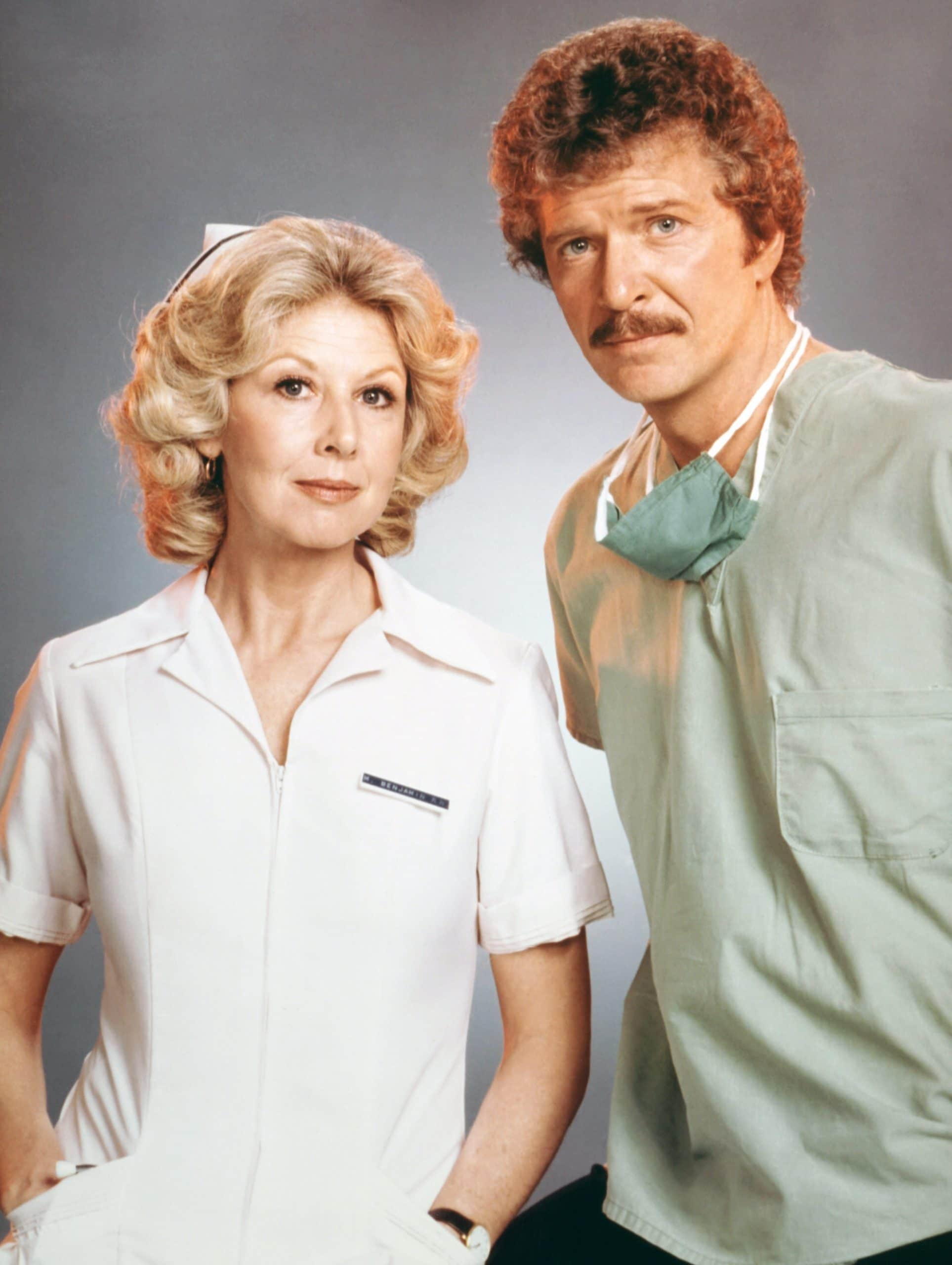 NURSE, from left: Michael Learned, Robert Reed, 1981-82