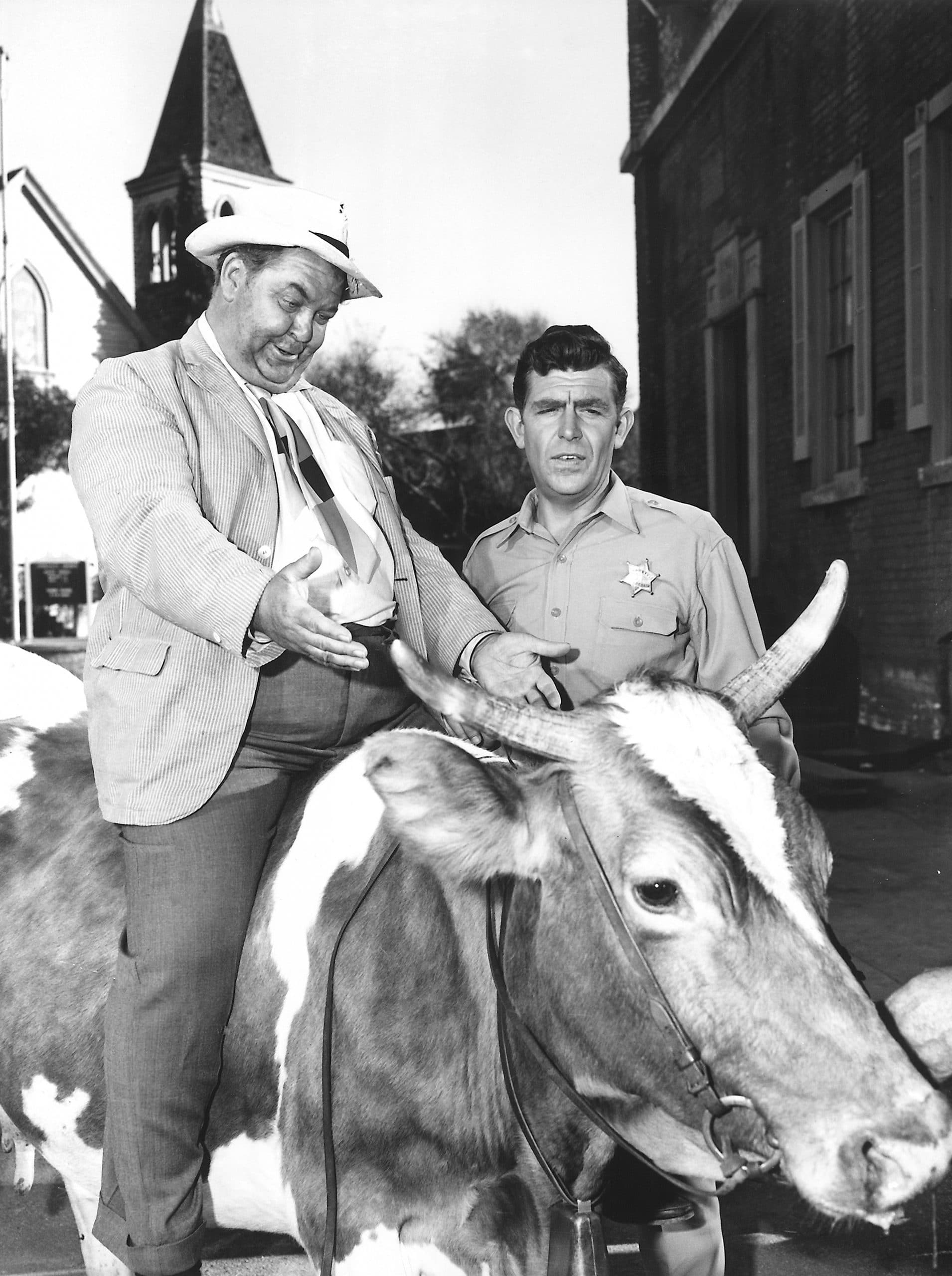 ANDY GRIFFITH SHOW, Hal Smith, Andy Griffith, in the Season 5 episode, 'The Rehabilitation of Otis,'