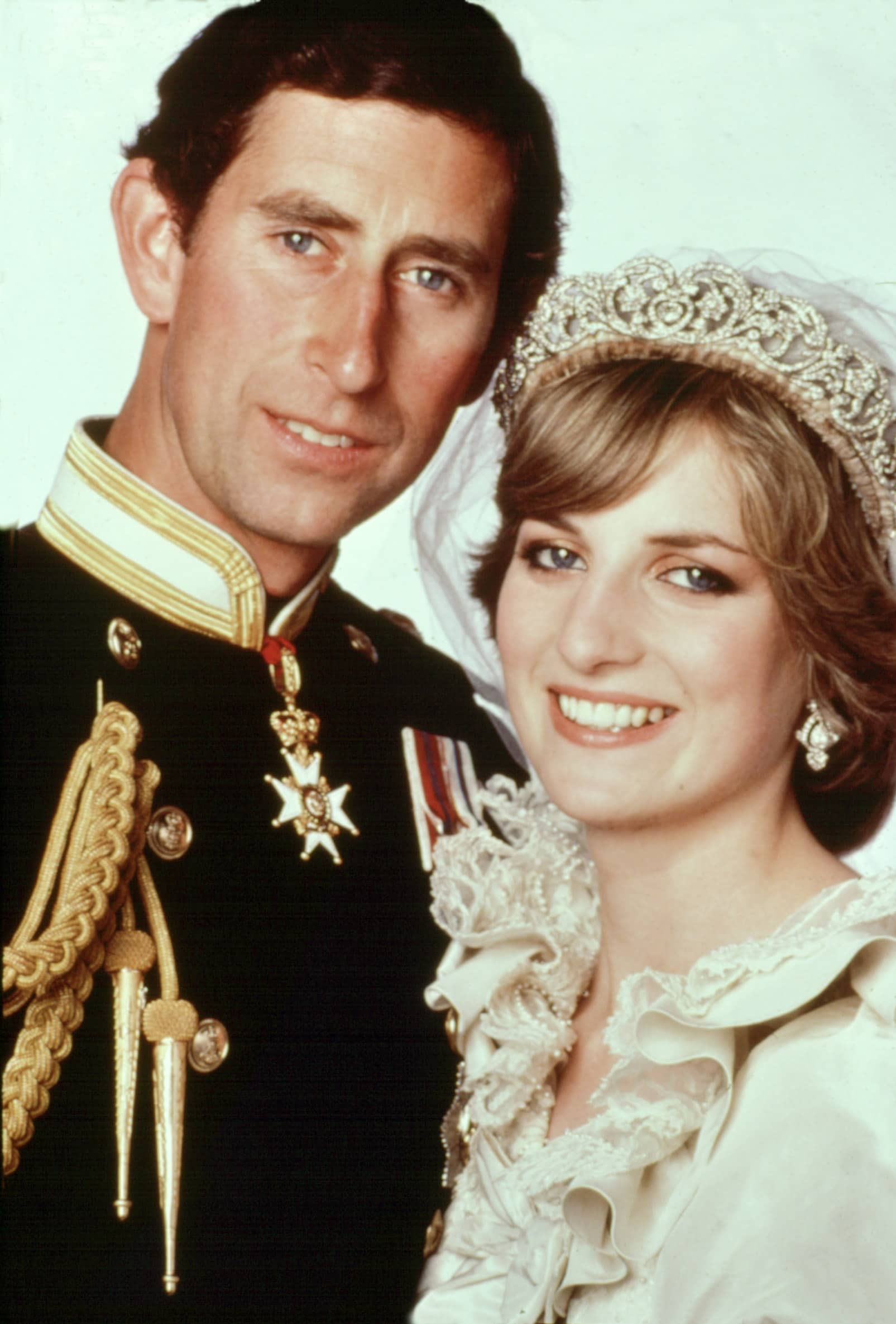 Wedding portrait of PRINCE CHARLES and LADY DIANA SPENCER, 1981