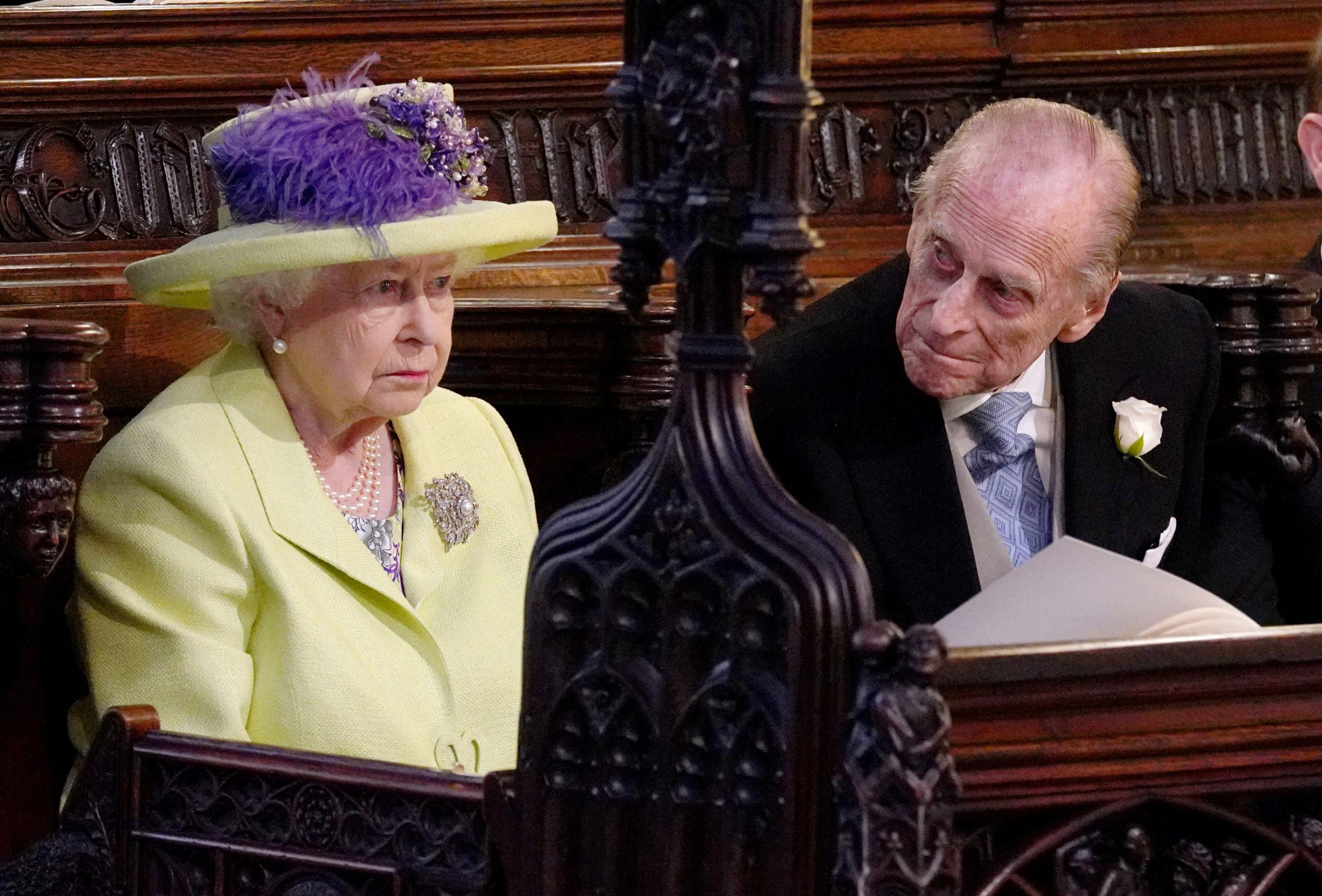 Queen Elizabeth II and Prince Philip Duke of Edinburgh