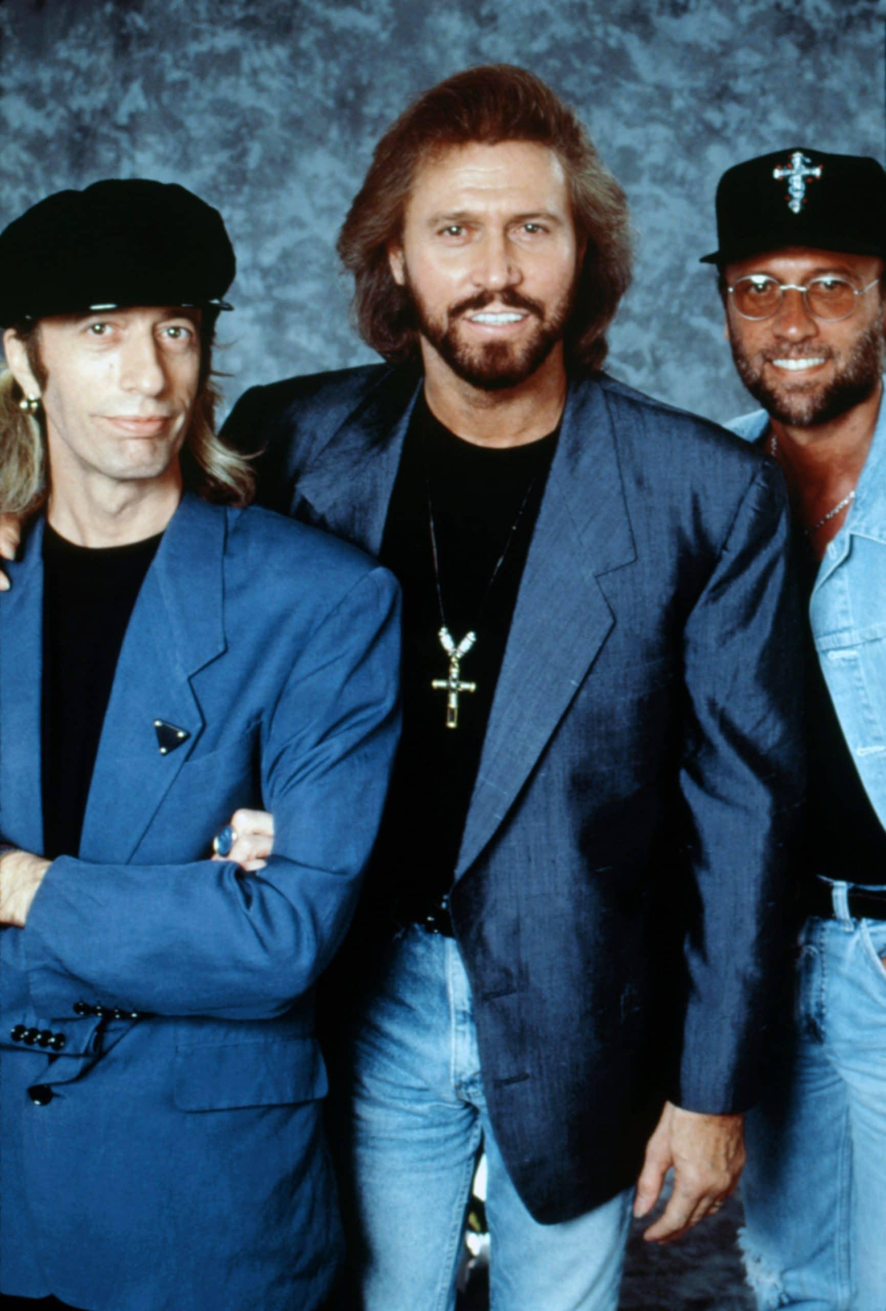 Bee Gees Robin Gibb, Barry Gibb, Maurice Gibb