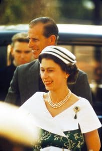 Queen Elizabeth II with Prince Philip,