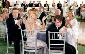 WEDDING CRASHERS, Christopher Walken, Jane Seymour, Keir O'Donnell