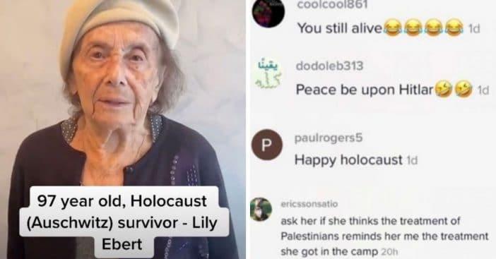97-Year-Old Holocaust Survivor Receives Anti-Semitic Hate Online