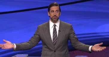 Aaron Rodgers wants to become the permanent Jeopardy host but there is a problem
