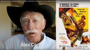 Alex Cord then and now