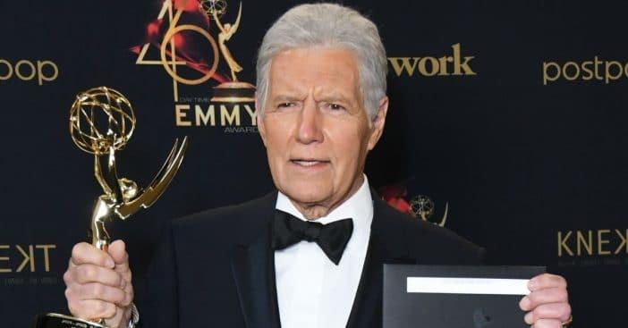 Alex Trebek nominated for a posthumous Emmy Award