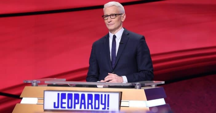 Anderson Cooper hosts 'Jeopardy!'