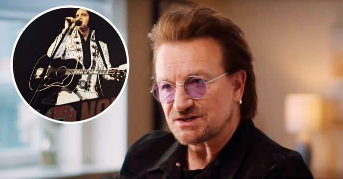 Bono said an Elvis Presley song saved his life