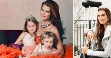Brooke Shields feels gratitude after leg injury and infection