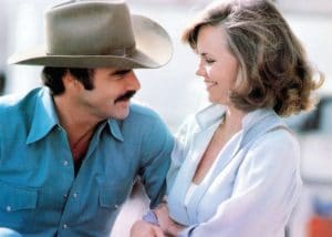 Burt Reynolds and Sally Field, the subject of an interview question by Oprah Winfrey years ago