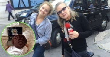 Carrie Fisher's Grandson Celebrates May The Fourth With Mom Billie Lourd