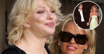 Courtney Love defends Pamela Anderson after news of the series about her and Tommy Lee
