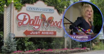 Dolly Parton Celebrates Tennessee's Reopening At Dollywood With Special Performance (1)