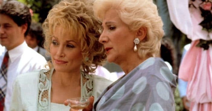 Dolly Parton and Olympia Dukakis friends in real life