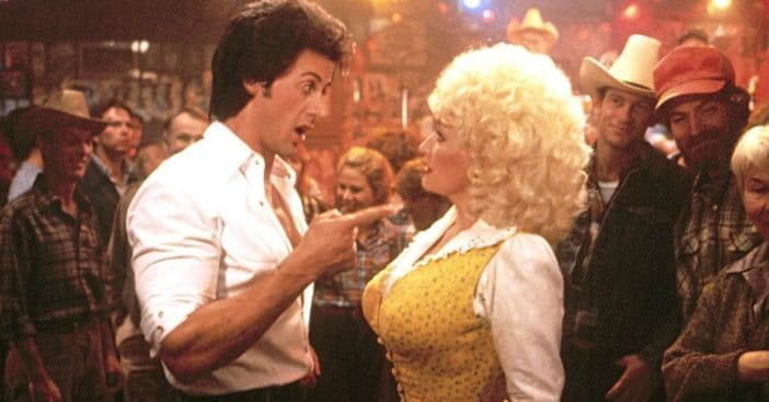 Dolly Parton says Rhinestone was not fair to Sylvester Stallone