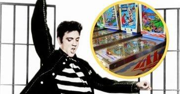 Elvis Presley was a pinball fan as long as he could win
