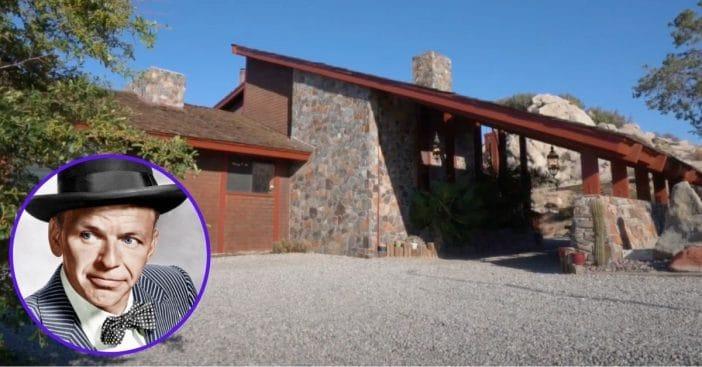Frank Sinatra's Desert Hideaway Still On The Market After 15 Years