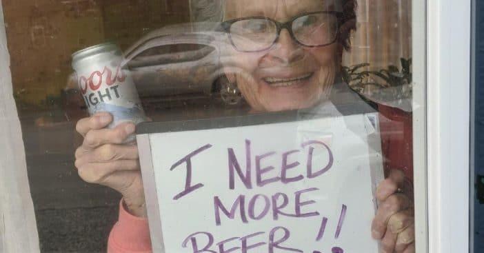 I Need More Beer lady dies at 94