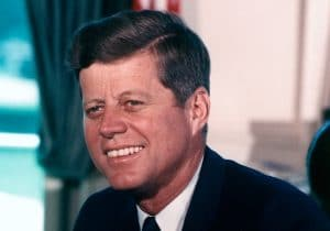 JFK actually maintained an affair with a Swedish aristocrat, documented in affectionate letters