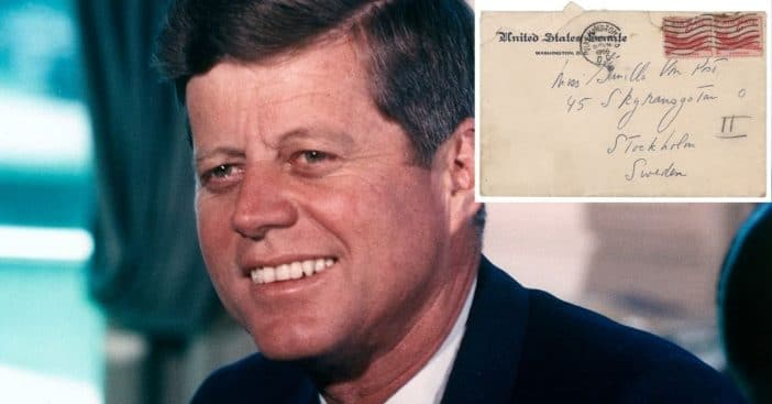 JFK's letters to a Swedish lover
