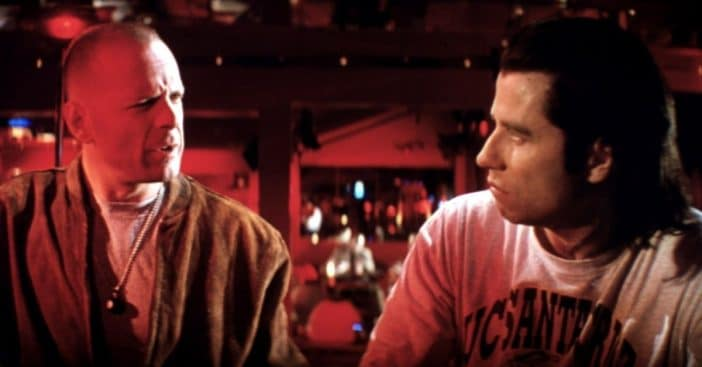 John Travolta And Bruce Willis To Reunite In New Film 27 Years After 'Pulp Fiction'