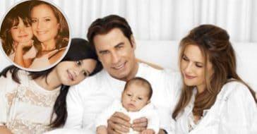John and Ella Travolta share tributes to Kelly Preston