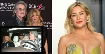 Kate Hudson, Goldie Hawn, Kurt Russell Share Laughs After Dinner Together