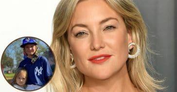 Kate Hudson's Daughter Rani Supports Big Brother Bing At Baseball In New Photo