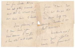 Letters to von Post