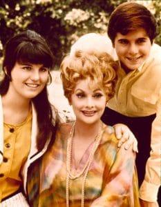 Lucie Arnaz, Lucille Ball, Desi Arnaz, Jr.