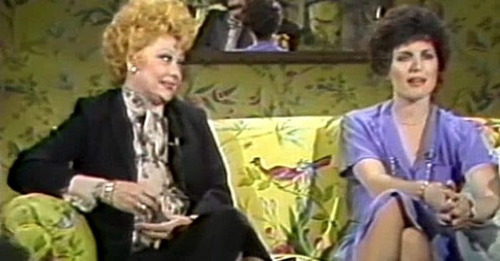 Lucille Ball and Lucie Arnaz