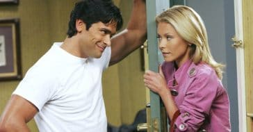 Mark Consuelos and Kelly Ripa in 'All My Children'