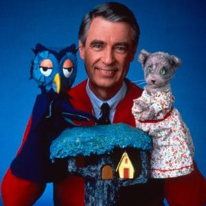 Mister Rogers used various teaching tools to help children navigate life's hurdles