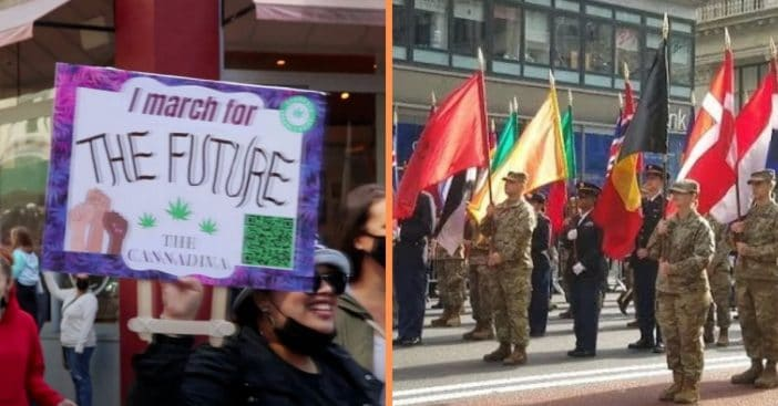NYC Veterans Furious After Parade Gets Canceled, But Cannabis Parade Allowed To Continue