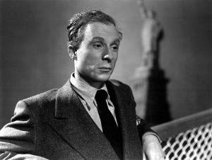 Norman Lloyd in Saboteur, 1942