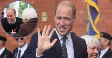 Prince William 'Scolded' For Flirting With 96-Year-Old Admirer