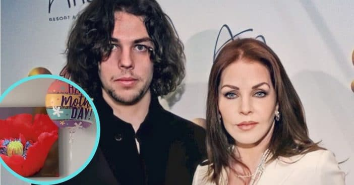 Priscilla Presley shares her Mother's Day present
