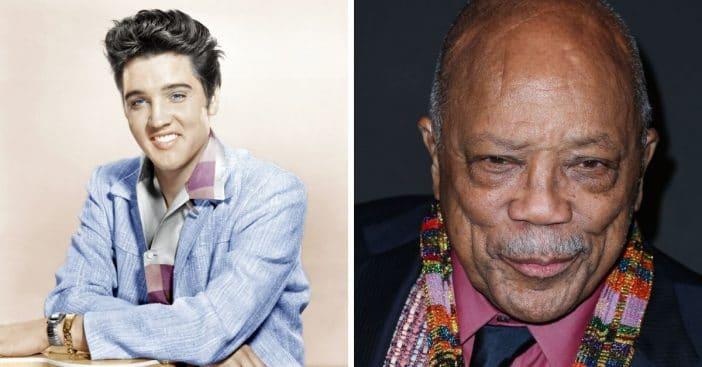 Quincy Jones Wouldn't Work With Elvis Presley Because He Was A Racist