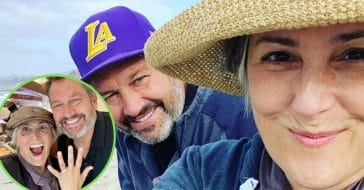 Ricki Lake Shows Off New Engagement Ring In Adorable Pic With Ross Burningham