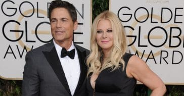 Rob Lowe and wife Sheryl Berkoff celebrating 30 years of marriage