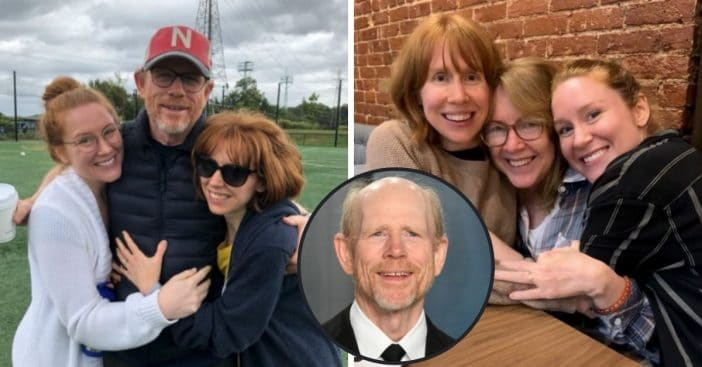 Ron Howard's Twin Daughters Jocelyn And Paige Howard Are Clones Of Their Famous Dad