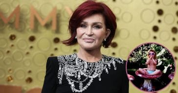Sharon Osbourne Posts Adorable Photo Of Granddaughter Minnie Coming To Visit