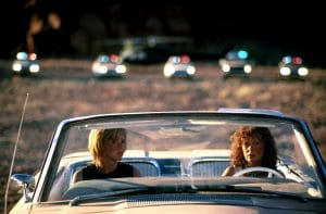 Susan Sarandon and Geena Davis in Thelma and Louise