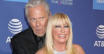 Suzanne Somers admitted she was high on her first date with Alan Hamel