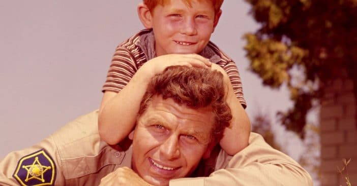 The adorable ritual Andy Griffith and Ron Howard had