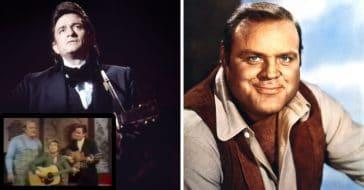 When Dan Blocker Joined Johnny Cash For Performance Of Folsom Prison Blues