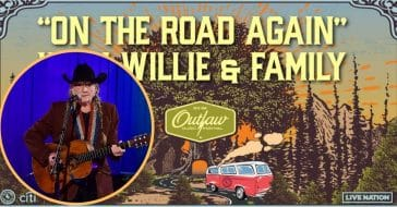Willie Nelson Is 'On The Road Again' With A New Tour This Summer