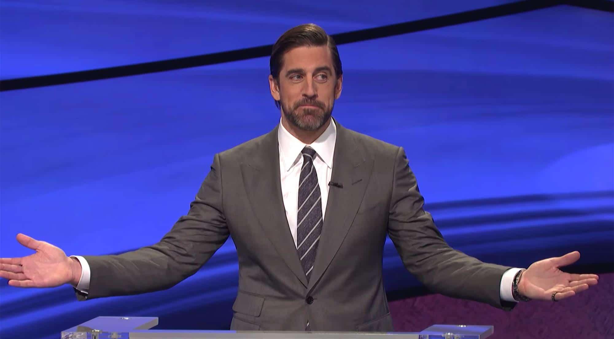 aaron rodgers host jeopardy