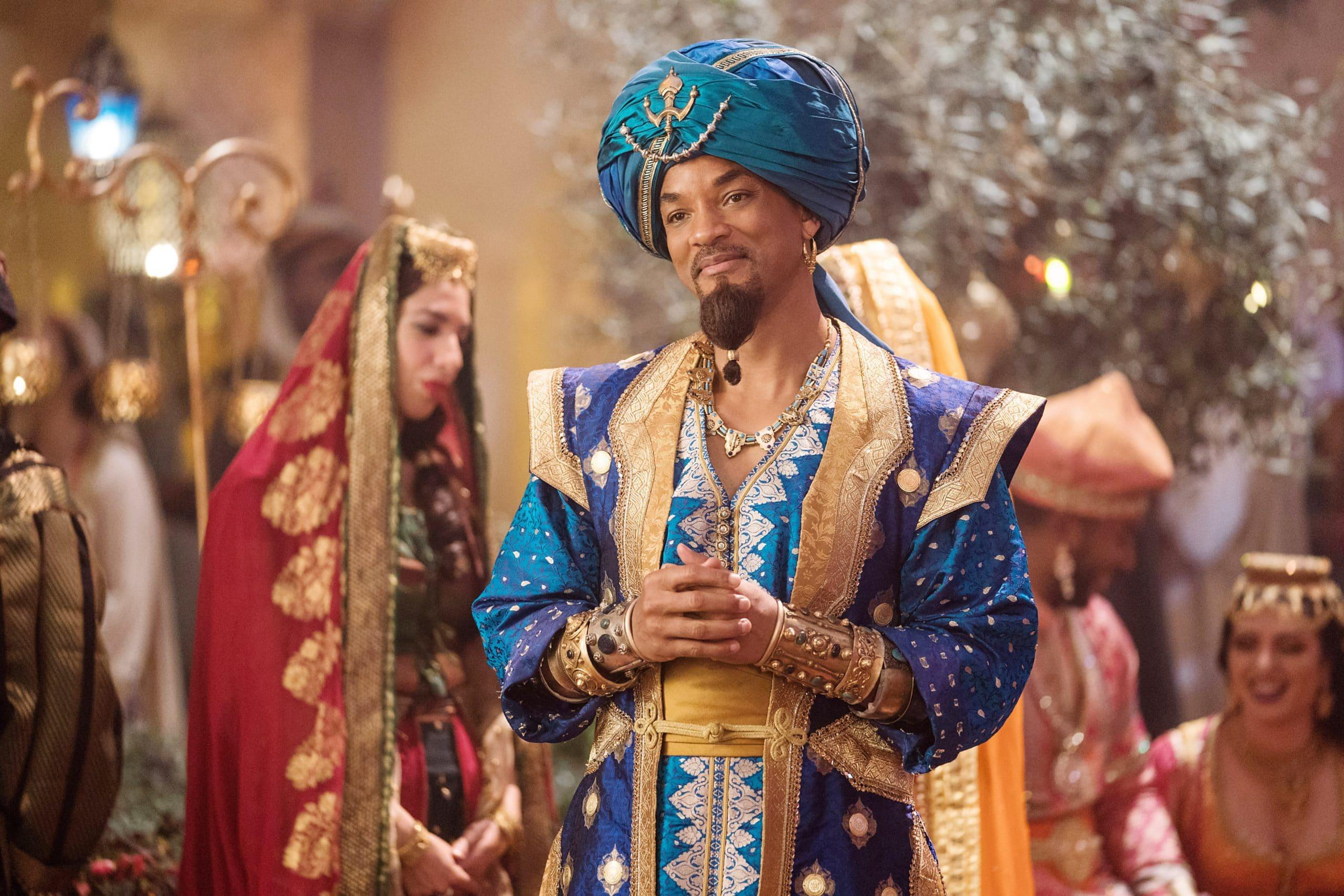 ALADDIN, Will Smith as Genie, 2019